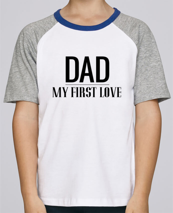 Tee-Shirt Enfant Stanley Mini Jump Short Sleeve Dad my first love par tunetoo