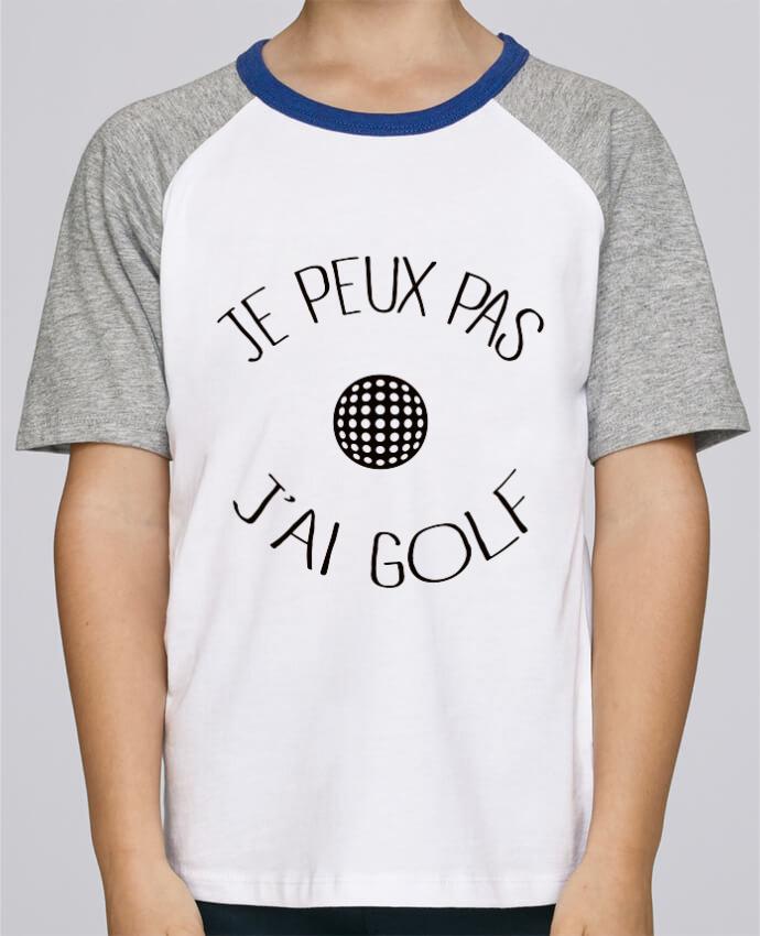 Tee-Shirt Enfant Stanley Mini Jump Short Sleeve Je peux pas j'ai golf par Freeyourshirt.com
