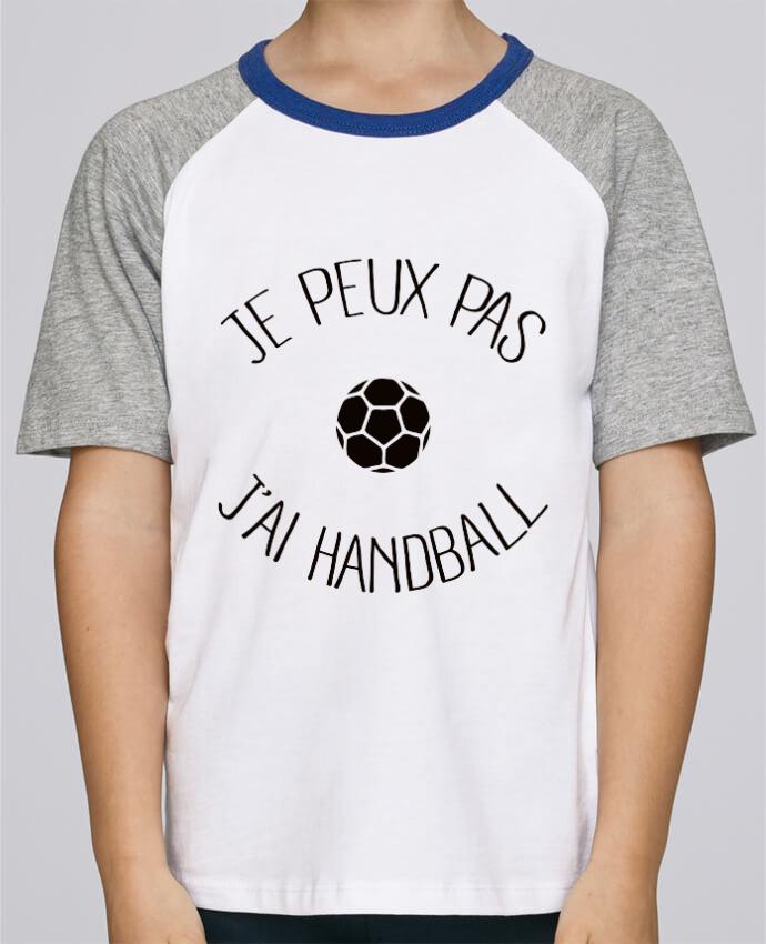 Tee-Shirt Enfant Stanley Mini Jump Short Sleeve Je peux pas j'ai Handball par Freeyourshirt.com