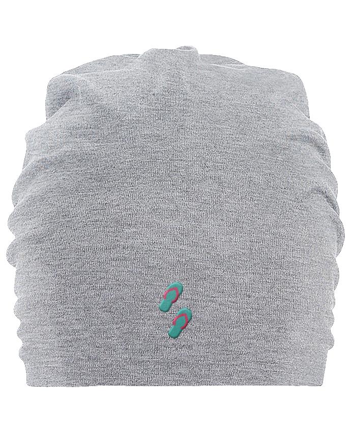 Bonnet oversize en coton Hemsedal Tongues par tunetoo