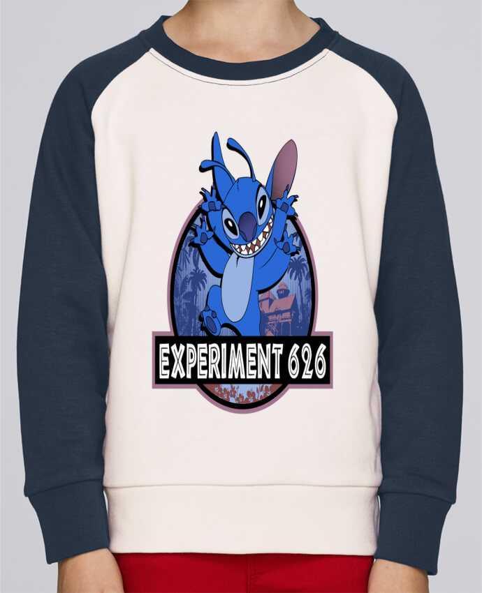 Sweat Shirt Col Rond Enfant Stanley Mini Contrast Experiment 626 par Kempo24