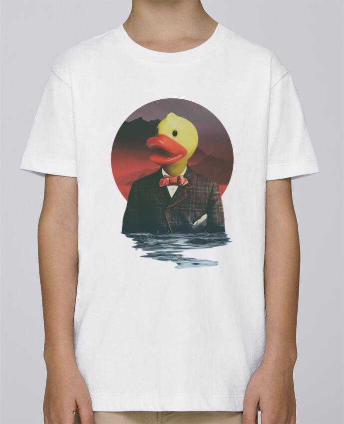 Tee Shirt Garçon Stanley Mini Paint Rubber ducky par ali_gulec