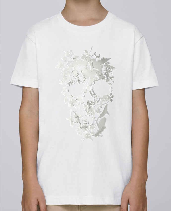 Tee Shirt Garçon Stanley Mini Paint Simple Skull par ali_gulec