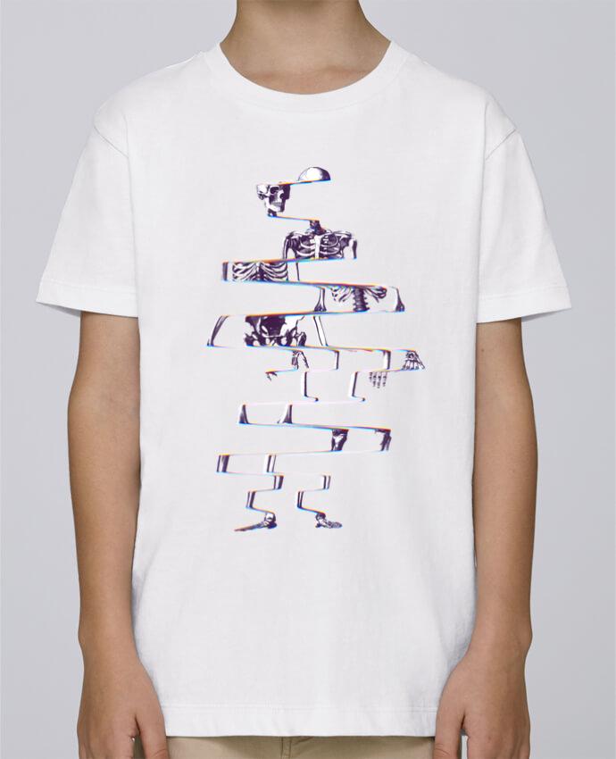 Tee Shirt Garçon Stanley Mini Paint Skeleton par ali_gulec