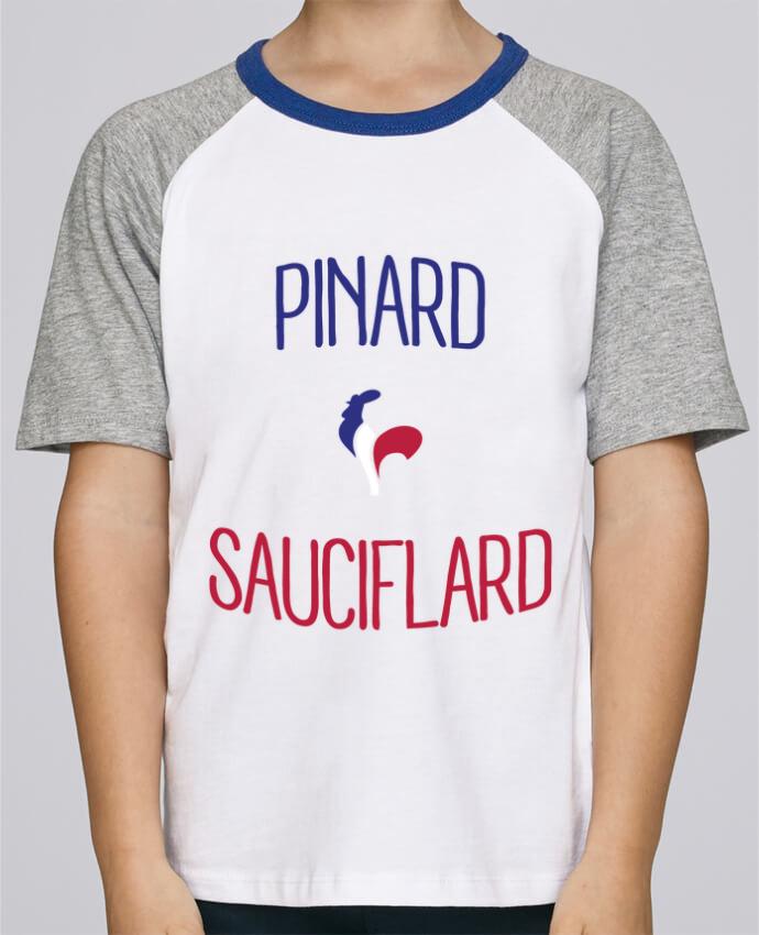 Tee-Shirt Enfant Stanley Mini Jump Short Sleeve Pinard Sauciflard par Freeyourshirt.com