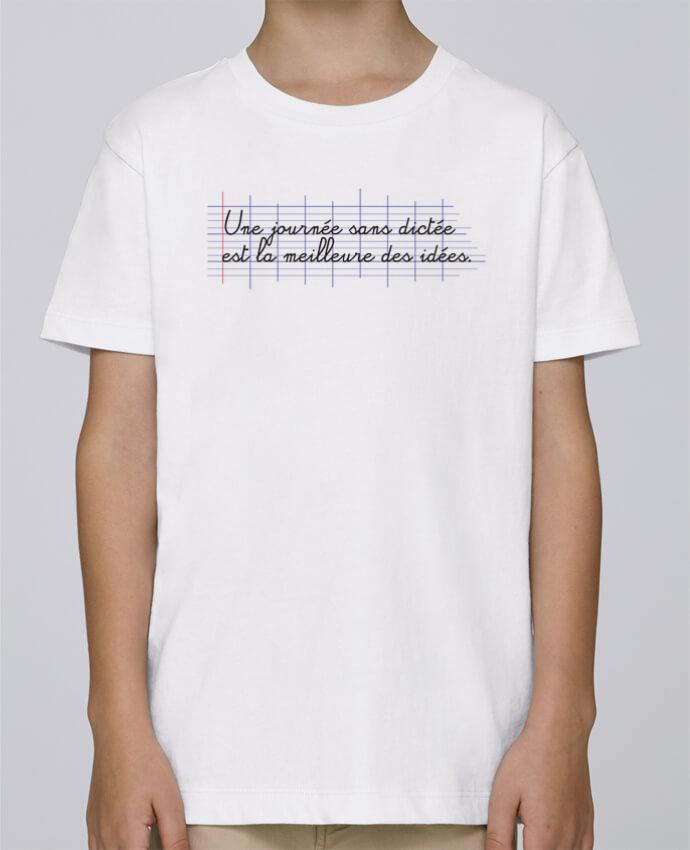 Tee Shirt Garçon Stanley Mini Paint Une journée sans dictée par tunetoo