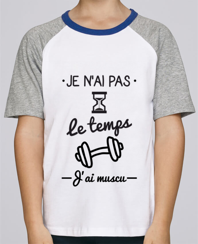 Tee-Shirt Enfant Stanley Mini Jump Short Sleeve Pas le temps, j