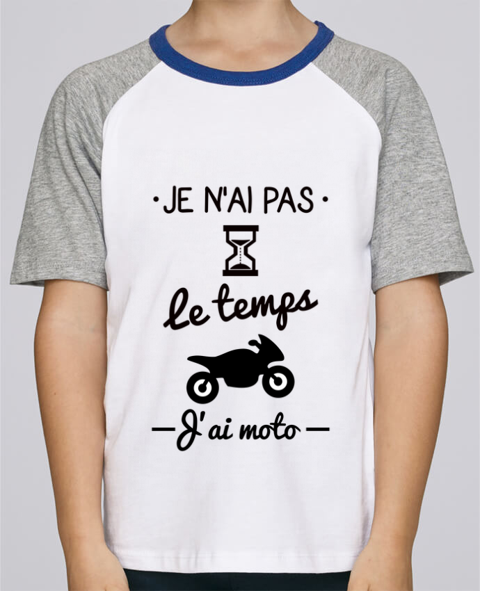 Tee-Shirt Enfant Stanley Mini Jump Short Sleeve Pas le temps j