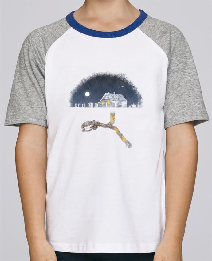 Tee-Shirt Enfant Stanley Mini Jump Short Sleeve Always Digging par Florent Bodart