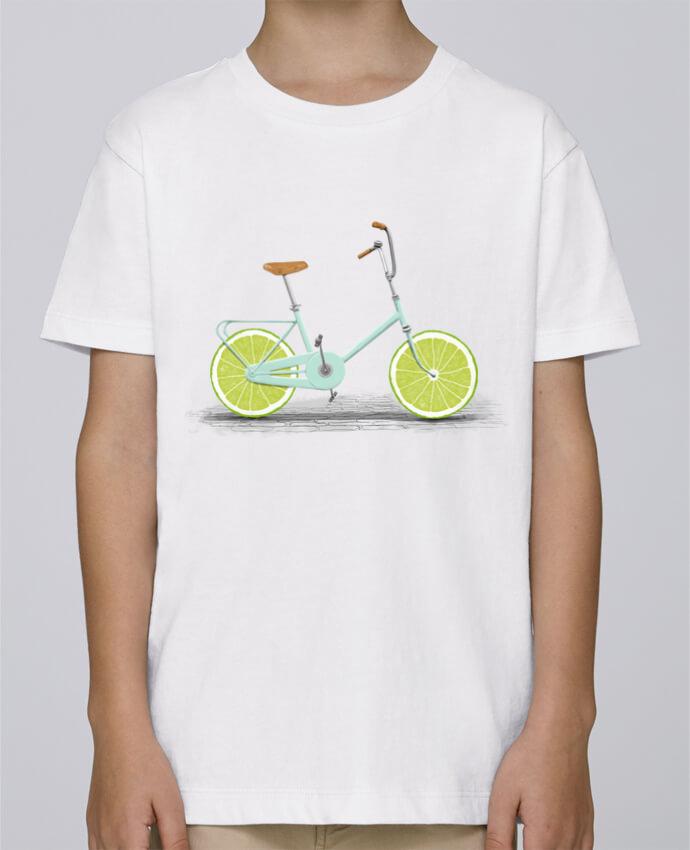 Tee Shirt Garçon Stanley Mini Paint Acid par Florent Bodart