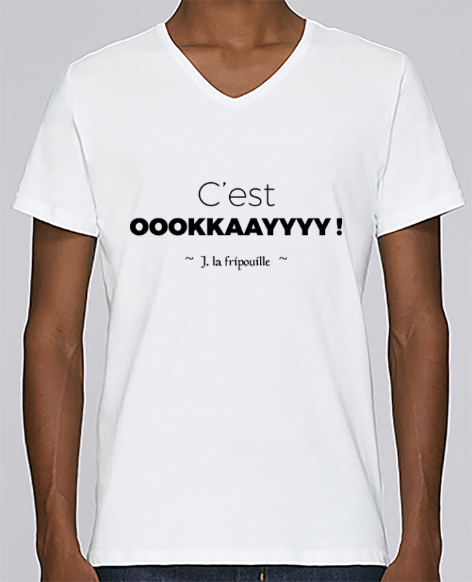 T-shirt Col V Homme Stanley Relaxes oookkaayyyy ! par tunetoo