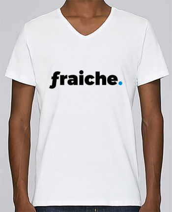 T-shirt Col V Homme Stanley Relaxes fraiche. par tunetoo 3789aa566934