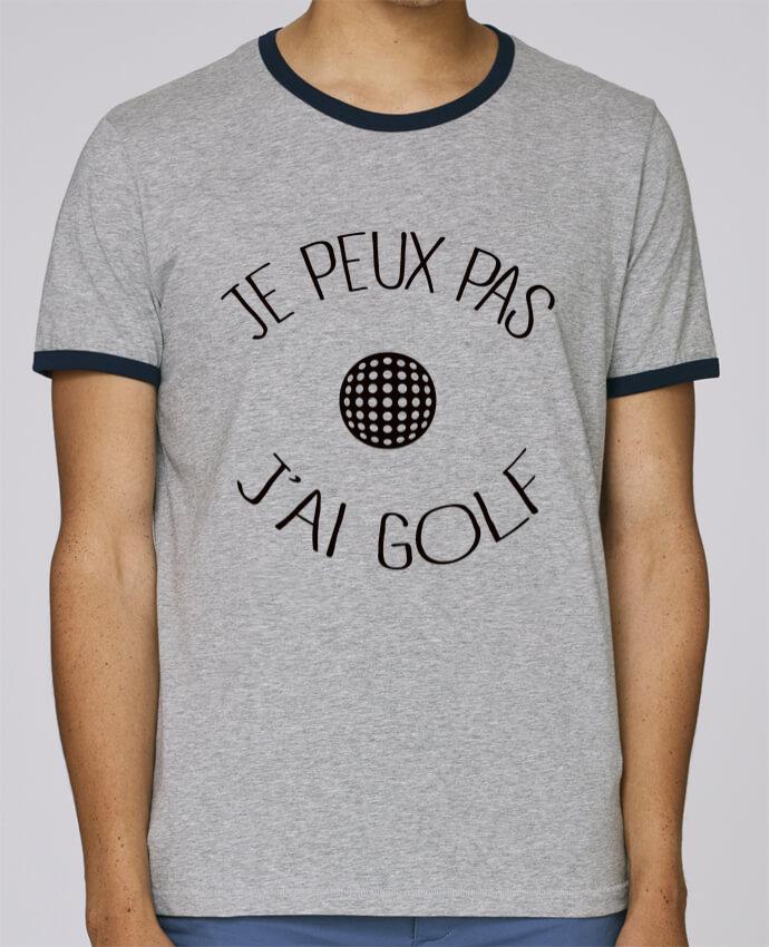 T-Shirt Ringer Contrasté Homme Stanley Holds Je peux pas j'ai golf pour femme par Freeyourshirt.com