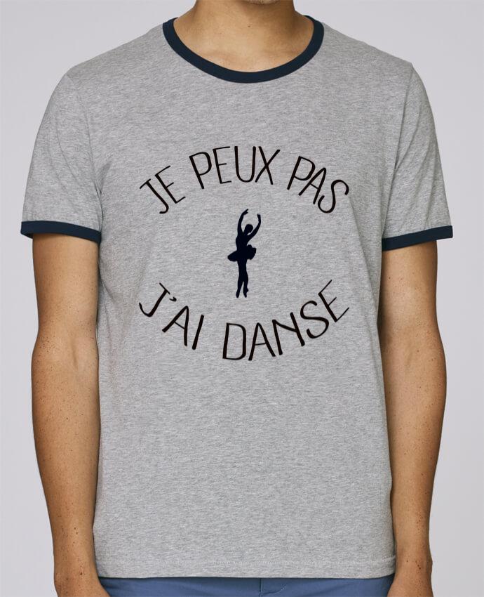 T-Shirt Ringer Contrasté Homme Stanley Holds Je peux pas j'ai Danse pour femme par Freeyourshirt.com