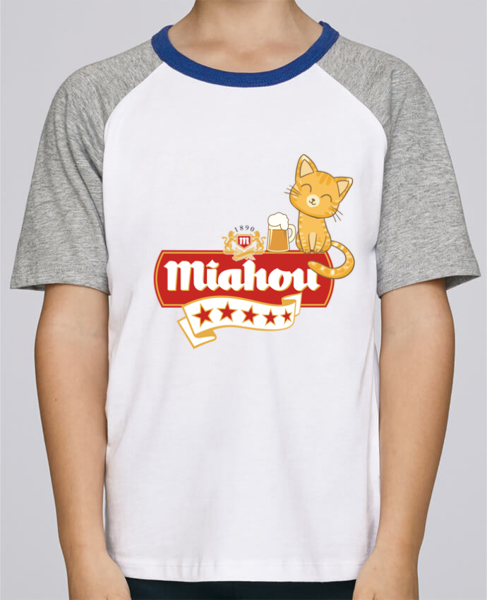 Tee-Shirt Enfant Stanley Mini Jump Short Sleeve Miahou par ParanoiaRecords