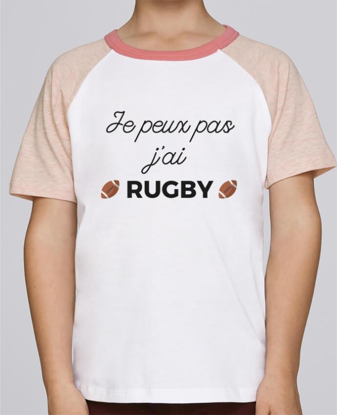 Tee-Shirt Enfant Stanley Mini Jump Short Sleeve Je peux pas j'ai Rugby par Ruuud