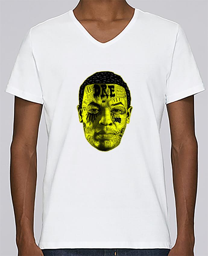 T-shirt Col V Homme Stanley Relaxes Dr. Dre par Nick cocozza