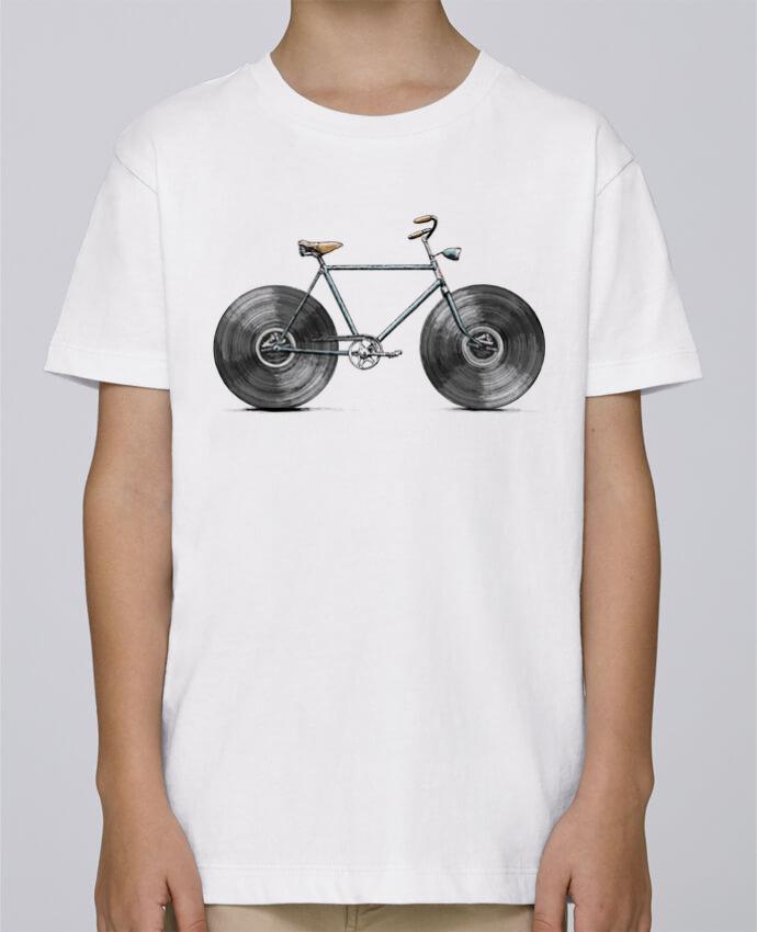 Tee Shirt Garçon Stanley Mini Paint Velophone par Florent Bodart