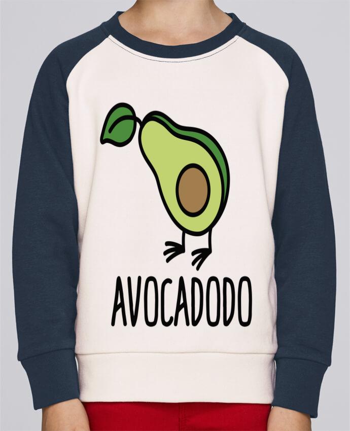Sweat Shirt Col Rond Enfant Stanley Mini Contrast Avocadodo par LaundryFactory