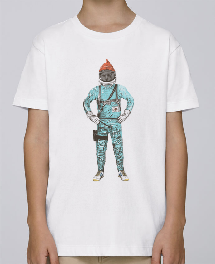 Tee Shirt Garçon Stanley Mini Paint Zissou in space par Florent Bodart