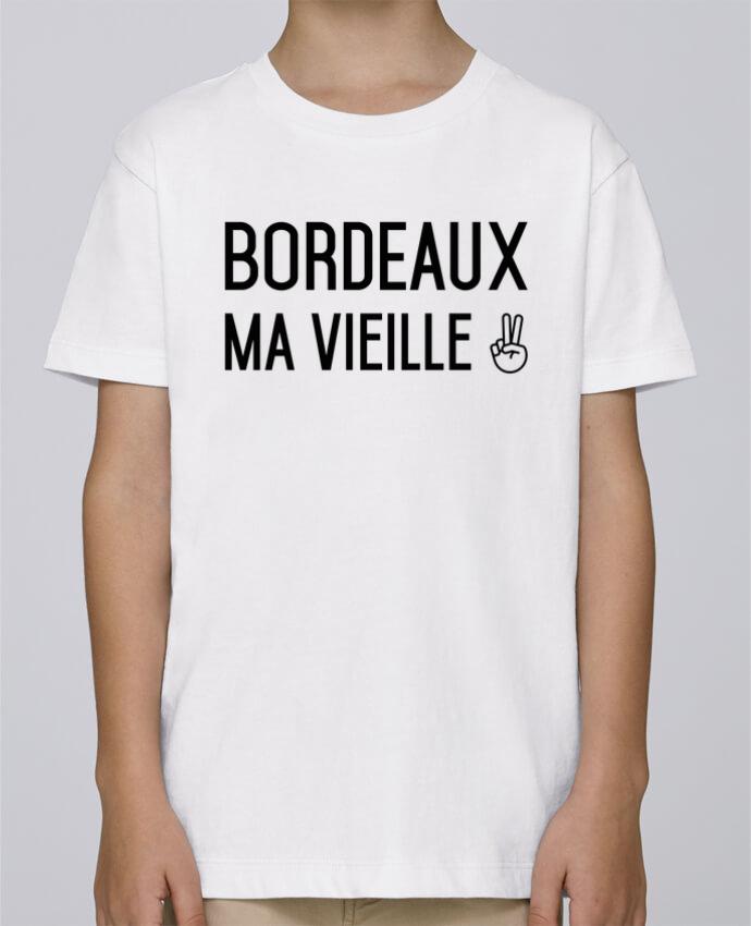 Tee Shirt Garçon Stanley Mini Paint Bordeaux ma vieille par tunetoo