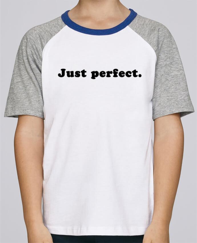 Tee-Shirt Enfant Stanley Mini Jump Short Sleeve Just perfect par Les Caprices de Filles