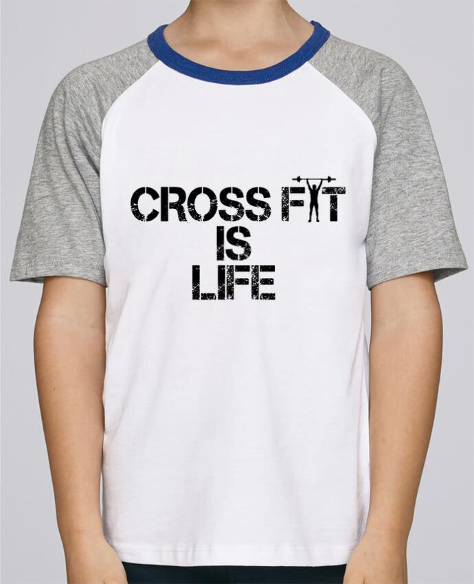 Tee-Shirt Enfant Stanley Mini Jump Short Sleeve Crossfit is life par tunetoo