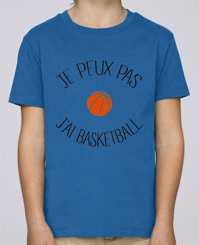 Tee Shirt Garçon Stanley Mini Paint je peux pas j'ai Basketball par Freeyourshirt.com