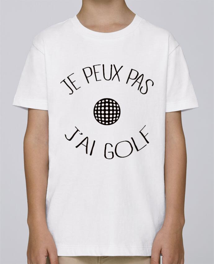 Tee Shirt Garçon Stanley Mini Paint Je peux pas j'ai golf par Freeyourshirt.com