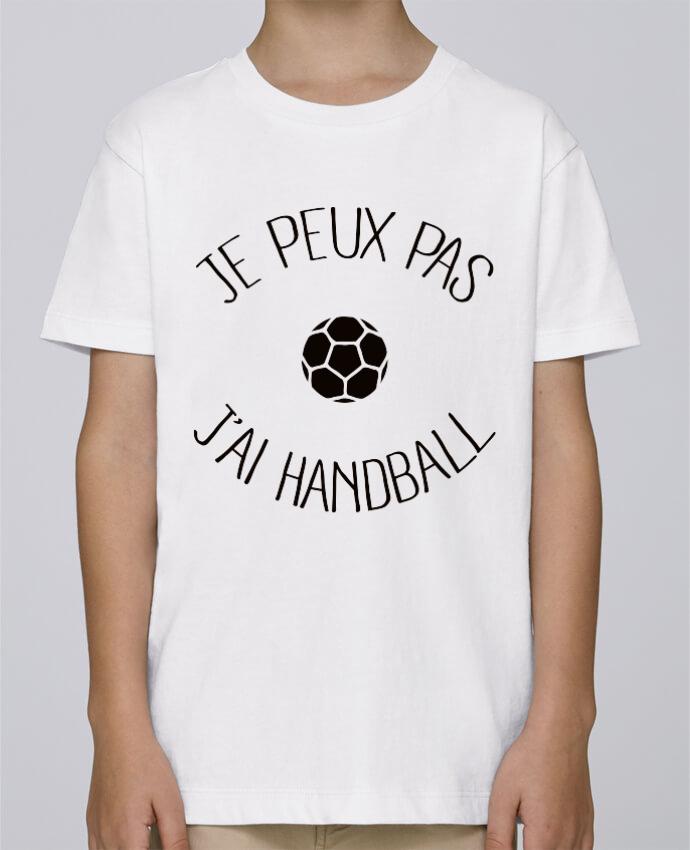 Tee Shirt Garçon Stanley Mini Paint Je peux pas j'ai Handball par Freeyourshirt.com