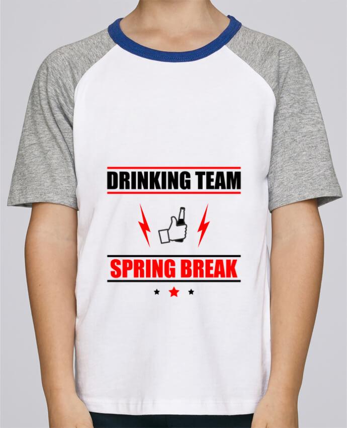 Tee-Shirt Enfant Stanley Mini Jump Short Sleeve Drinking Team Spring Break par Benichan