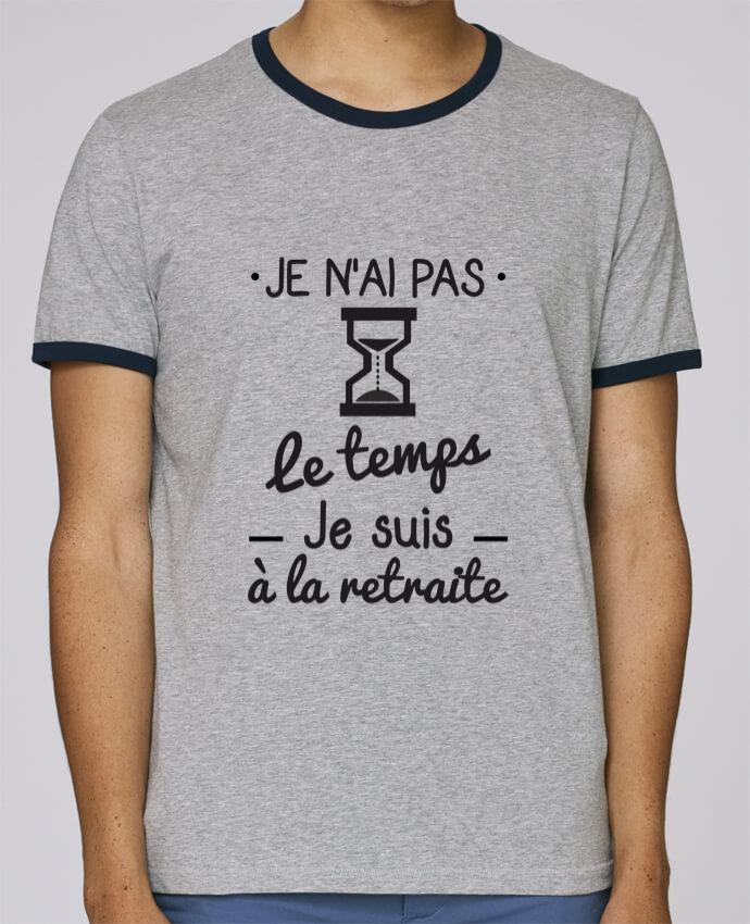 T-Shirt Ringer Contrasté Homme Stanley Holds Pas le temps, je suis à la retraite, tee shirt retraité pour femme par Benichan
