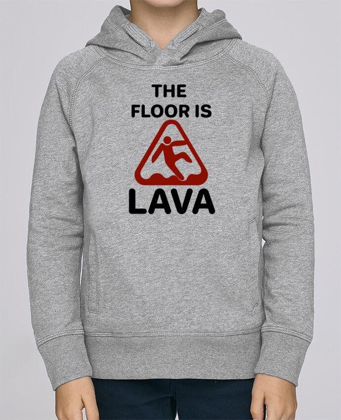Sweat à Capuche Enfant Stanley Mini Base The floor is lava par tunetoo
