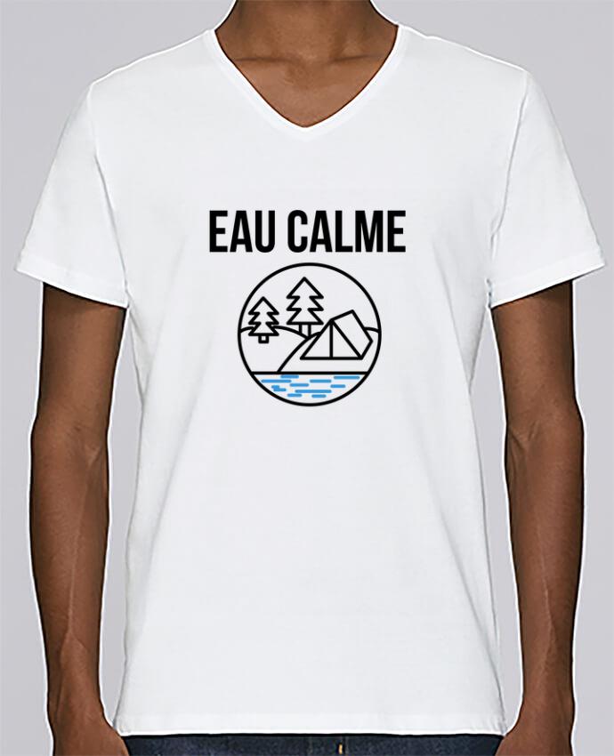 T-shirt Col V Homme Stanley Relaxes eau calme par Ruuud