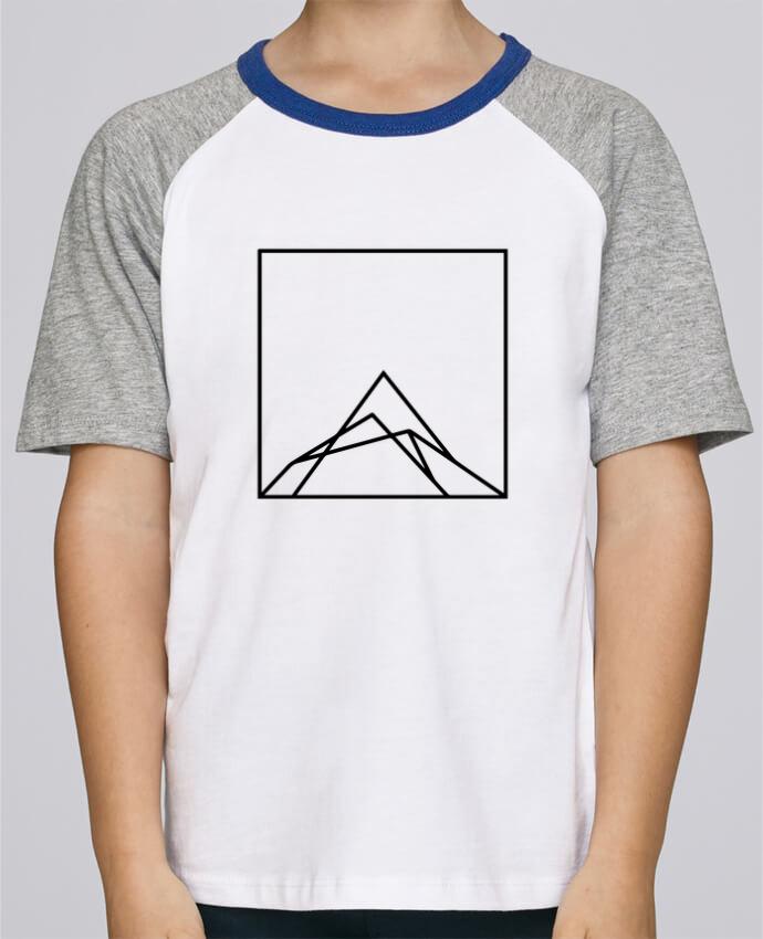 Tee-Shirt Enfant Stanley Mini Jump Short Sleeve Montain by Ruuud par Ruuud