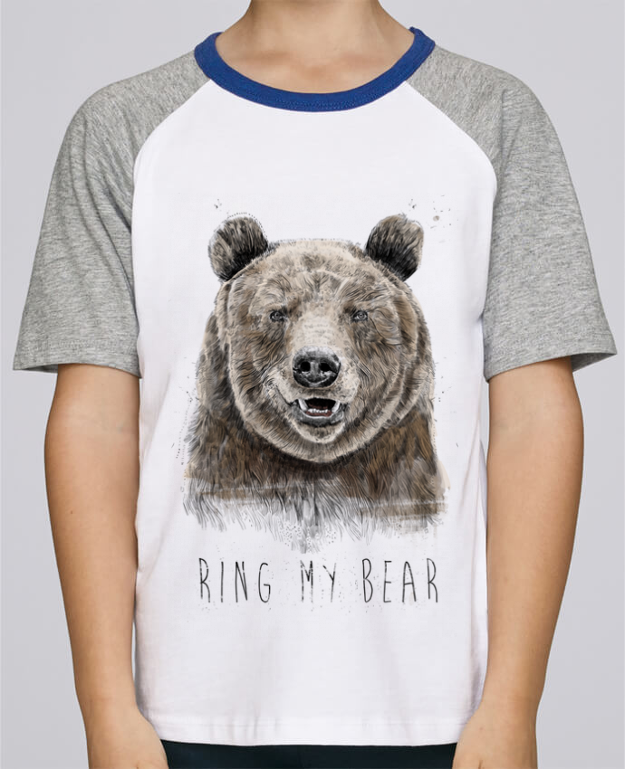 Tee-Shirt Enfant Stanley Mini Jump Short Sleeve Ring my bear par Balàzs Solti