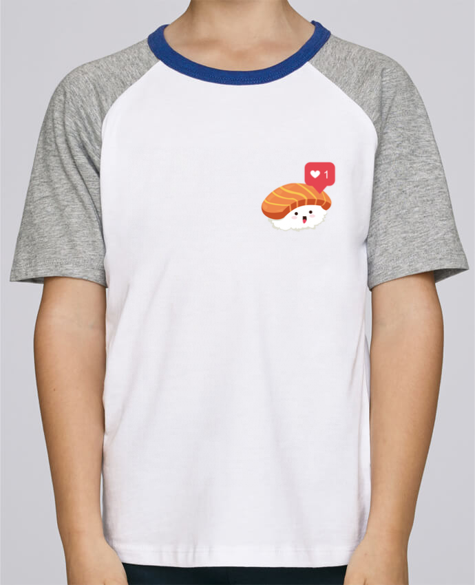 Tee-Shirt Enfant Stanley Mini Jump Short Sleeve Sushis like par Nana