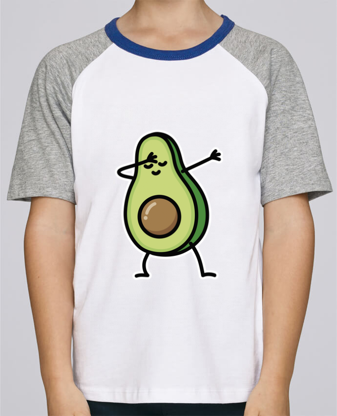 Tee-Shirt Enfant Stanley Mini Jump Short Sleeve Avocado dab par LaundryFactory