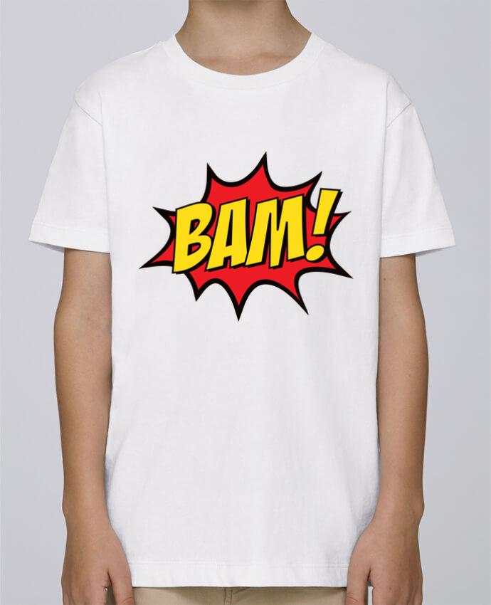 Tee Shirt Garçon Stanley Mini Paint BAM ! par Freeyourshirt.com