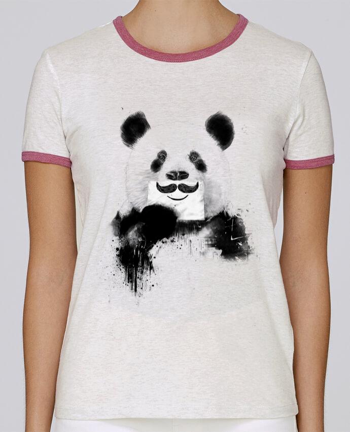 T-shirt Femme Stella Returns Funny Panda Balàzs Solti pour femme par Balàzs Solti