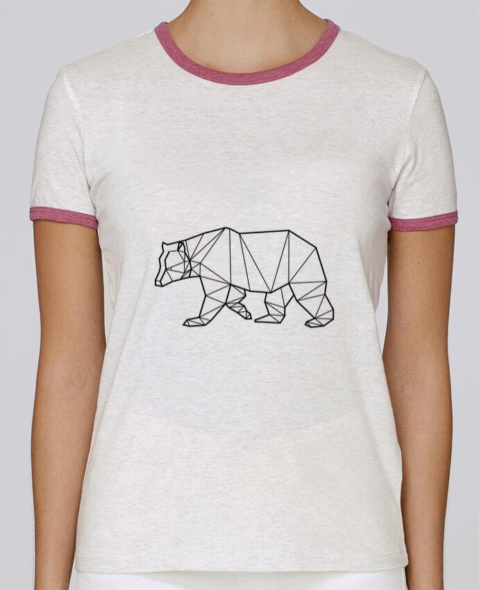 T-shirt Femme Stella Returns Bear Animal Prism pour femme par Yorkmout