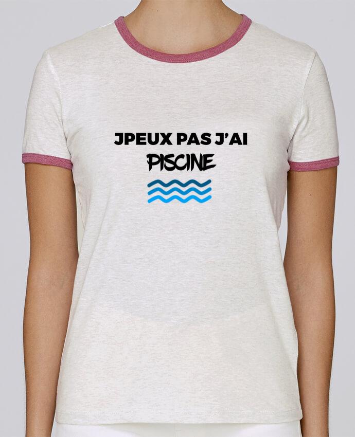 T-shirt Femme Stella Returns Je peux pas j\'ai piscine pour femme par tunetoo