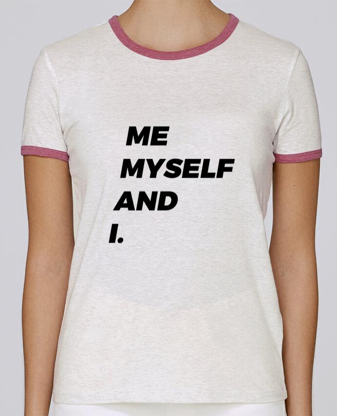 T-shirt Femme Stella Returns me myself and i. pour femme par tunetoo