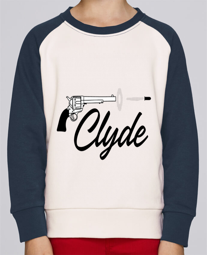 Sweat baseball enfant Clyde par tunetoo