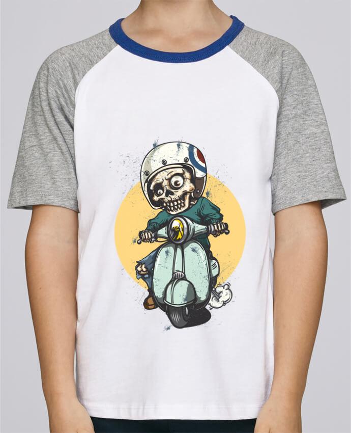 Tee-Shirt Enfant Stanley Mini Jump Short Sleeve art design par omgraphiste