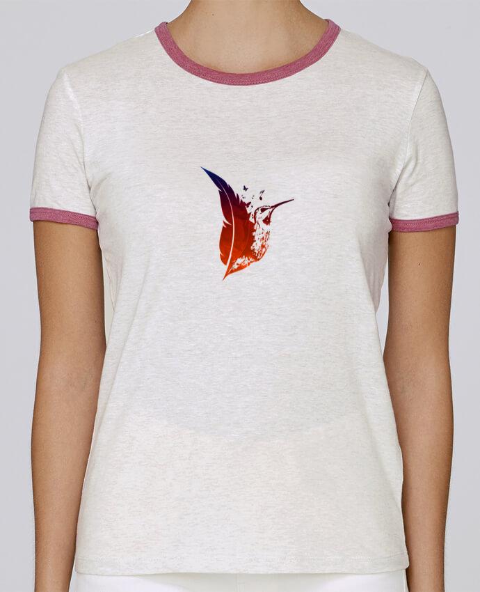 T-shirt Femme Stella Returns plume colibri pour femme par Studiolupi