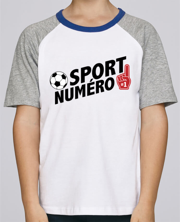 Tee-Shirt Enfant Stanley Mini Jump Short Sleeve Sport numéro 1 Football par tunetoo