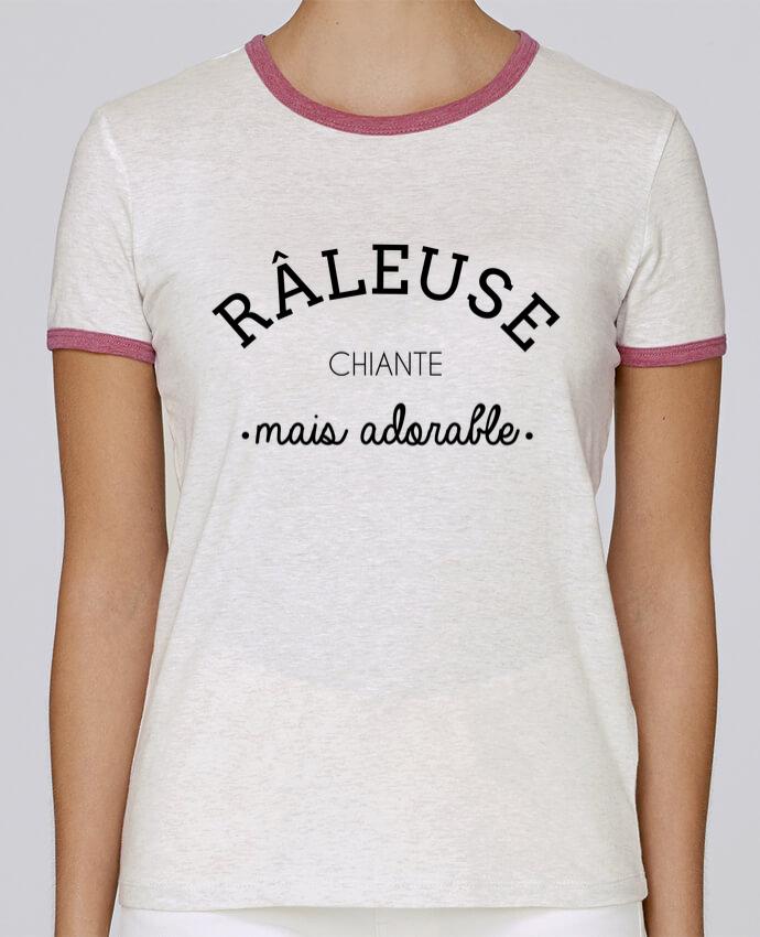 T-shirt Femme Stella Returns Râleuse chiante mais adorable pour femme par LPMDL