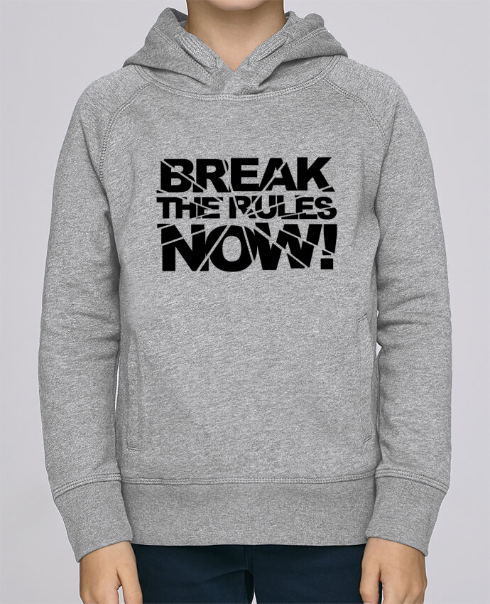 Sweat à Capuche Enfant Stanley Mini Base Break The Rules Now ! par Freeyourshirt.com