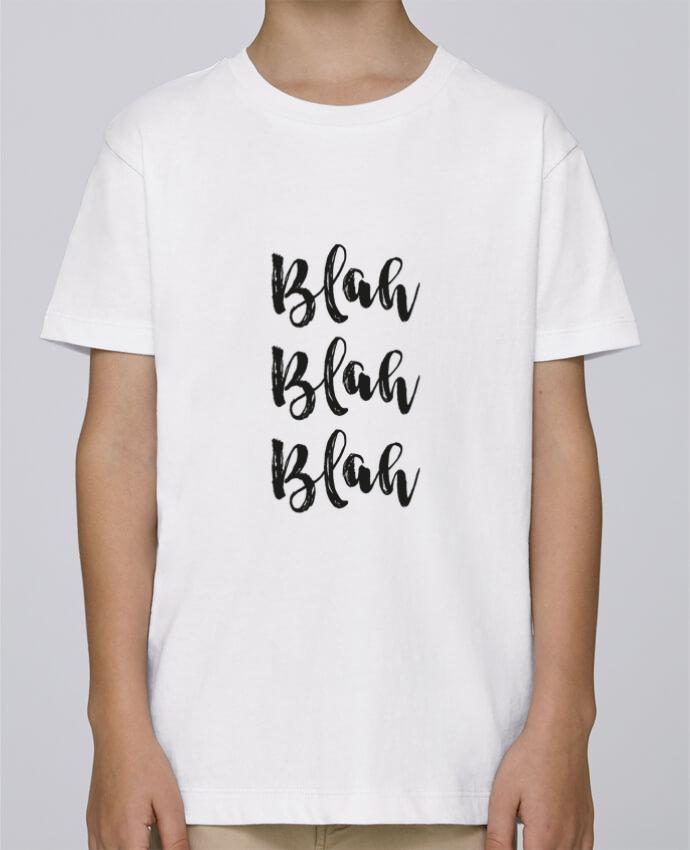 Tee Shirt Garçon Stanley Mini Paint Blah Blah Blah ! par tunetoo